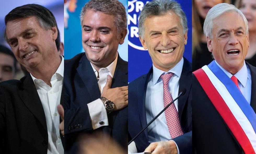 La irrupción de la nueva derecha en América Latina.