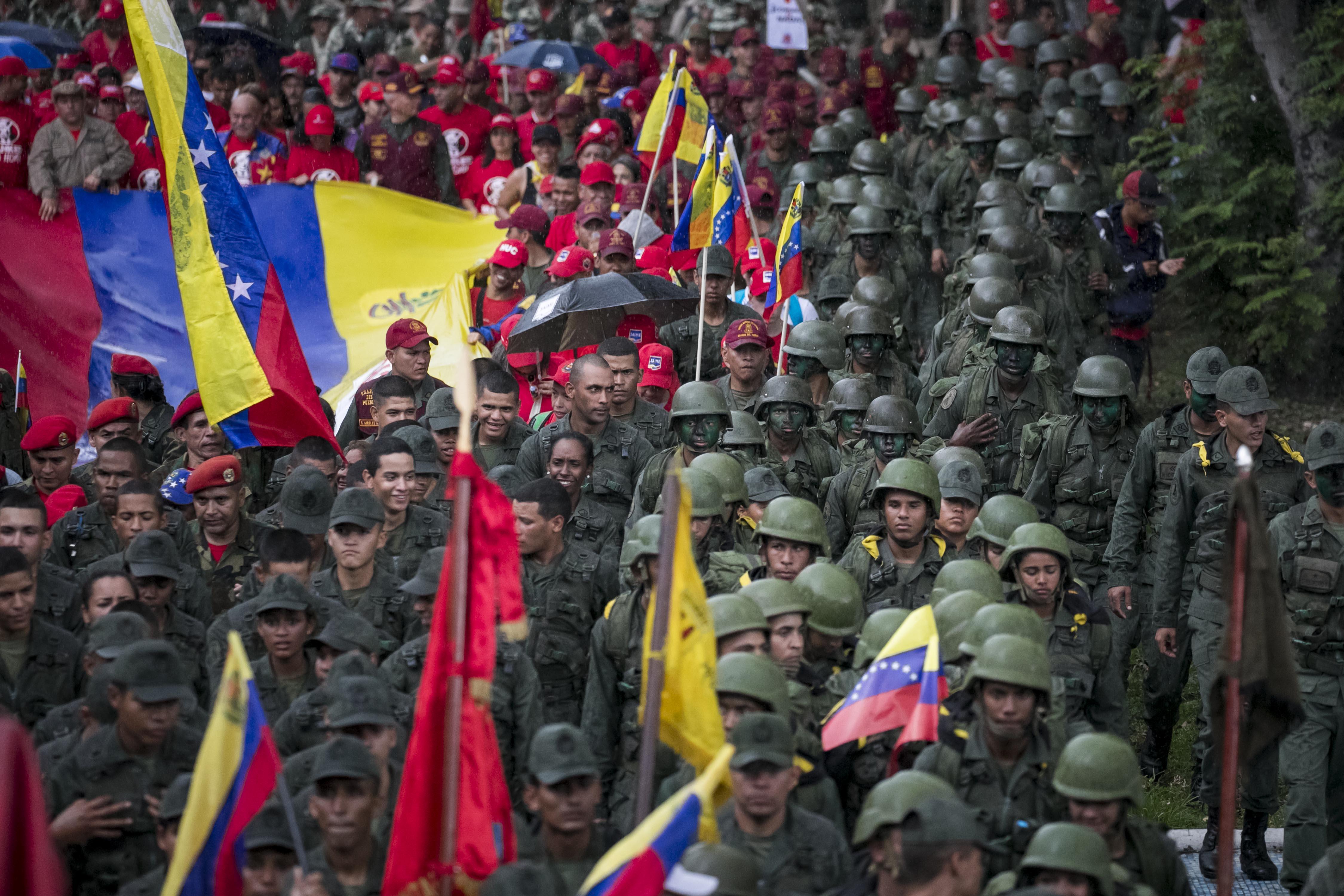 OEA reactiva el TIAR para una eventual intervención armada en Venezuela.